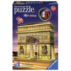 Puzzle 3D Arco di Trionfo Night Edition Ravensburger