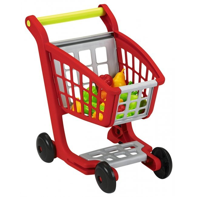 Carrello Supermercato Con Accessori