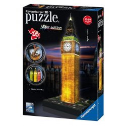 Puzzle 3D BigBen Night Edition Con Led Ravensburger